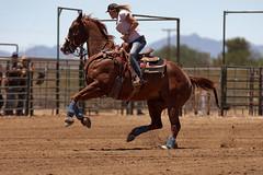 Apple Valley Barrel Racing (Tackshots) Tags: california horse cowgirl applevalley barrelracing nbha flynhigh