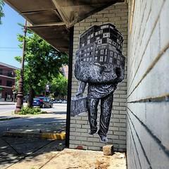 Broad Street x Bainbridge (NETHER STREET ART) Tags: street art philadelphia paste wheat baltimore philly nether nether410