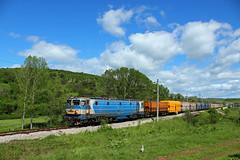 Bobov Dol Coal Freight (Krali Mirko) Tags: electric railway cargo bulgaria locomotive coal freight 46 bdz 46033 electroputere 060ea batanovtsi