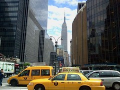 New York (cocozool2005) Tags: city usa newyork america town taxis yellowtaxis