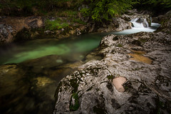 carved in stone (Mario Visser) Tags: trees green love water colors stone waterfall nikon heart sigma slovenia bohinj ukanc mariovisser