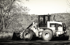 CAT 924G Loader (Western Maryland Photography) Tags: cat maryland caterpillar loader alleganycounty 924g