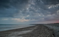 West Beach (hall1705) Tags: sea sky seascape beach clouds sussex mood westsussex dusk shore climping d3200