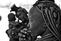 Himba Woman 5 (alisdair jones) Tags: africa leica portrait woman tribal jewellery namibia himba nomadic m240 summiluxm11450asph