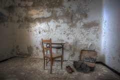 """ Resto solo...."" (Giovanni Cedronella) Tags: abandoned architecture shadows room dust dreem door decay forgotten urbex light"
