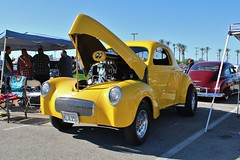 Mooneyes X-Mas Party 2015 (USautos98) Tags: hotrod custom 1941 willys streetrod gasser