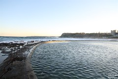 0D6A0954 (Stephen Baldwin Photography) Tags: ocean sunset sea beach water newcastle sand australia baths nsw