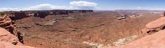 Green River Overlook panorama (Stephen T Slater) Tags: canyonlandsnationalpark cliffs explore greenriveroverlook sodaspringsbasin sodaspringscanyon us usa unitedstatesofamerica panorama moab utah unitedstates