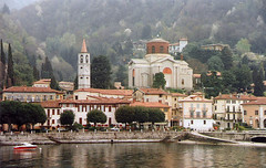 Italy.  March 29th.-April 3rd. 1998 (Cynthia of Harborough) Tags: water architecture boats towers lakes churches views 1998 domes