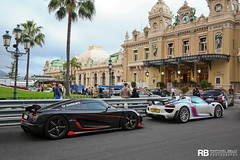 Agera RS & 918 (Raphal Belly Photography) Tags: orange white black paris france cars car canon de french photography eos hotel automobile riviera noir photographie south martini voiture casino spyder montecarlo monaco mc belly porsche 7d carlo monte bianca carbon blanche raphael package rs bianco blanc luxury nero rb supercar spotting nera koenigsegg supercars noire raphal 918 principality carbone weissach principaut 98000 agera