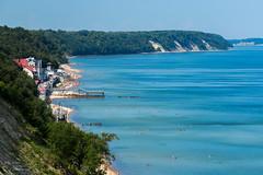 (klgfinn) Tags: sea summer sky beach water skyline landscape coast balticsea shore