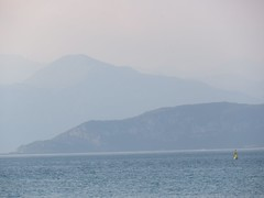 Lake Garda (Susannaphotographer) Tags: travel sunset italy mountains nature garda tramonto earth pastel natura monte atmosfera gardalake travelphoto travelpicture traveltip pastelli