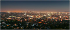LA Panorama (CvK Photography) Tags: california city autumn usa holiday color fall skyline night canon us losangeles cityscape outdoor verenigdestaten flickrtravelaward