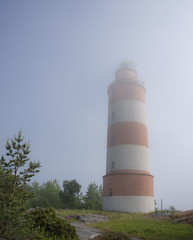 misty morning (Jumilla) Tags: lighthouse mist nature fog suomi finland archipelago saaristo majakka isokari olympusomd