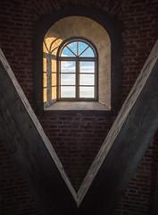 inside the lighthouse (Jumilla) Tags: shadow lighthouse window suomi finland archipelago ikkuna saaristo majakka isokari olympusomd