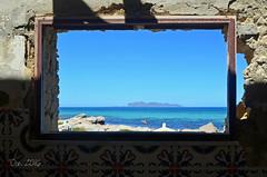 Mare in cornice (danars) Tags: mare acqua saline sicilia favignana abbandono archeologiaindustriale isolalunga