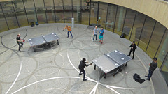 Table Tennis at Centenary Square near the Library Of Birmingham 07.05.2016 (The Cwmbran Creature.) Tags: city uk england playing game play britain united great kingdom games gb