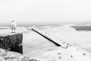 View from Mont St. Michel
