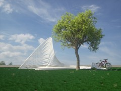 outdoor bench (gyulailevi) Tags: architecture bench design chair outdoor indoor generative productdesign parametric
