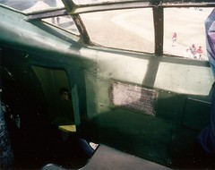 B-36 cockpit, portside, aft Castle Air Museum 98_1 (wbaiv) Tags: california cold green castle museum highway war force interior air united central sac cockpit 99 atwater valley 1950s states peacemaker heavy bomber strategic usaf command bluegreen b36 convair