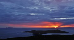 Last Rays _MG_2663 (Ronnierob) Tags: sunset stniniansisle foula scousburghhill shetlandisles