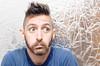 (Damien Cox) Tags: uk portrait selfportrait man male me face self ego myself beard eyes nikon masculine ears moi messy mustache autorretrato scruff stubble i damiencox damiencoxcouk