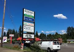 Boring, Oregon signage (Vancouverscape.com) Tags: travel usa oregon mthood 2016 arianecolenbrander vancouverscape