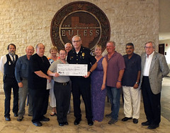 "Euless Police Fund Donation • <a style=""font-size:0.8em;"" href=""http://www.flickr.com/photos/136270263@N03/27639295862/"" target=""_blank"">View on Flickr</a>"