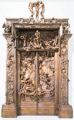 La puerta del infierno (roshua_quest) Tags: plaza sculpture art mxico arte escultura museo mx rodin auguste carso ciudaddemxico soumaya