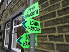 The class system in Haworth (waldopepper) Tags: set mainstreet 1840s haworth penistonehill bbcfilming