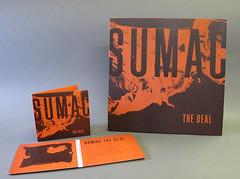 SUMAC LP and CD (SIGE037/PFL147) (Stumptown Printers) Tags: inch sumac packaging 12 custom sige