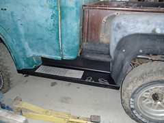 Running Board Progress (thorssoli) Tags: pickup coe cabover caboverengine