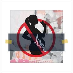 NO alcohol (PIKTORIO) Tags: berlin sign germany alcohol disabled photomontage motherhood addiction pictogram childcare fasd piktorio