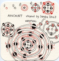 Aynchunt Pattern (molossus, who says Life Imitates Doodles) Tags: patterns review giveaway tangle zentangle zentangleinspiredart ancientpatternsformoderntangling