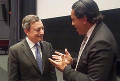 Mario Draghi & Cherno Jobatey (Jobatey) Tags: ecb ezb chernojobatey cherno jobatey mariodraghi