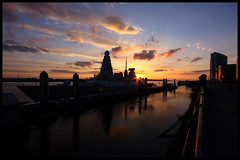 HMS Duncan @ Liverpool clt. (Proscriptor McGovern) Tags: hms duncan liverpool royal navy