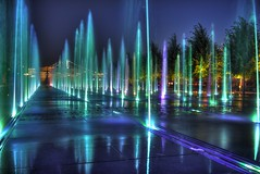 Fountain track (Andrew Goldman) Tags: city travel blue sun inspiration love me water fountain beautiful beauty make night river happy see evening amazing do shoot russia walk moscow like down best follow we journey goes capture bwst