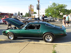 Lansdale Under the Lights Car Show June 18 2016 (Speeder1) Tags: show green ford car june lights air under chevy formula firebird pontiac gto mustang 18 bel 455 lansdale 2016