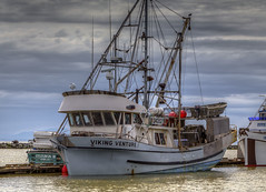 Viking Venture (Paul Rioux) Tags: industry boats boat fishing fisherman marine bc outdoor commercial fishermanswharf trawler steveston vessels fishingvillage shipsboats prioux vikingventure