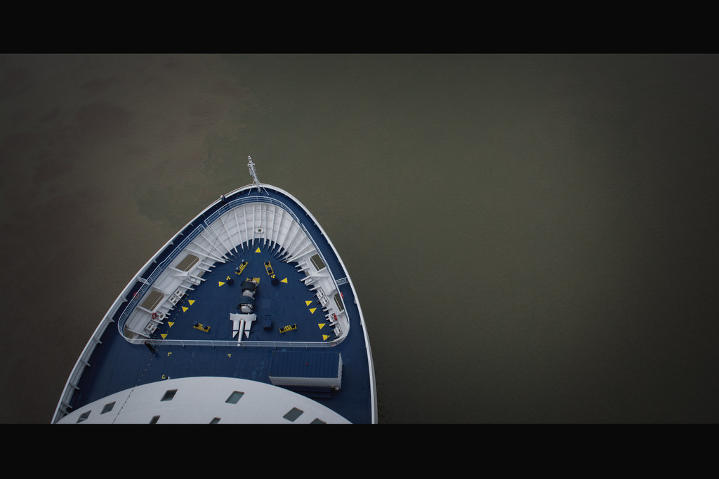 SEVEN SEAS VOYAGER leaving Bordeaux - 20 juin 2016
