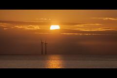 2mills (MMcStudio) Tags: sunset liverpool mersey windfarm newbrighton irishsea