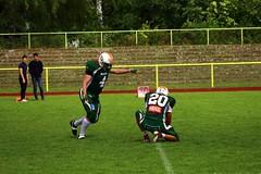 __IMG_8411 (blood.berlin) Tags: family fun coach referee team banner virgin magdeburg return qb win guards touchdown bulldogs tackle americanfootball punt fieldgoal spandau bulldogge gameball