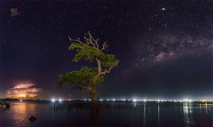 Milky n Thunder (Jose Hamra Images) Tags: milkyway awang lombok night landscape kuta