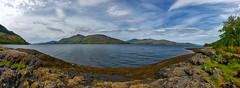 Am Loch (Jan mrik) Tags: panorama mountain rock canon landscape eos see scotland wasser hill loch landschaft schottland eosm cmrk cmarik