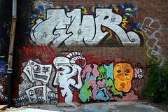 graffiti amsterdam (wojofoto) Tags: holland amsterdam graffiti nederland netherland bastard ndsm hi5 wolfgangjosten wojofoto