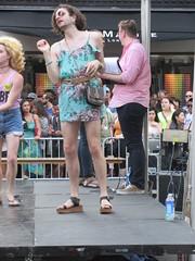 Jacob Tobia from MTV True Life I'm Genderqueer dancing on The Performance Stage hosted by Benjamin O'Keefe at NYC Pride, The March 2016 (RYANISLAND) Tags: nyc newyorkcity gay summer usa ny newyork love america lesbian unitedstates manhattan unitedstatesofamerica glbt pride parade american prideparade lgbt stonewall newyorkstate bisexual nyny hop gaypride trans lesbians transexual bi newyorknewyork nys equality trangender gays iloveny glbtq ilovenewyork nationalhistoriclandmark heritageofpride nycpride pridemarch newyorkcitypride manhattanny manhattannyc lgbtq stonewallinn thestonewallinn stonewallnationalhistoriclandmark stonewalllandmark stonewallmonument stonewallnationalmonument