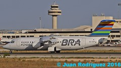 SE-DSP- BRA - Braathens Regional Airlines - British Aerospace Avro RJ100 (Juan Rodriguez - PMI/LEPA) Tags: plane airplane nikon aircraft bra sigma bae mallorca palma avin aeropuerto 70200mm 80400mm avrorj100 britishaerospace d90 aeroplano sonsanjuan sonsantjoan sedsp pmilepa
