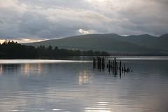 (carlozamagni) Tags: lake night lago scotland loch lomond lochlomond