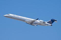 United Express (SkyWest Airlines) Bombardier CRJ-701ER N712SK (jbp274) Tags: airport airplanes lax oo crj bombardier skywest unitedexpress klax