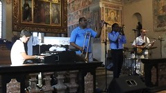 """ When the Saints Go Marching "" Gospel Concert - Glen David Andrews with 2 Twogheter & special guest Shamarr Allen - Jazz Ascona (salva1745) Tags: david ascona andrews go saints jazz glen when marching"